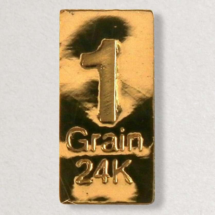 1 Grain (NOT GRAM) ...