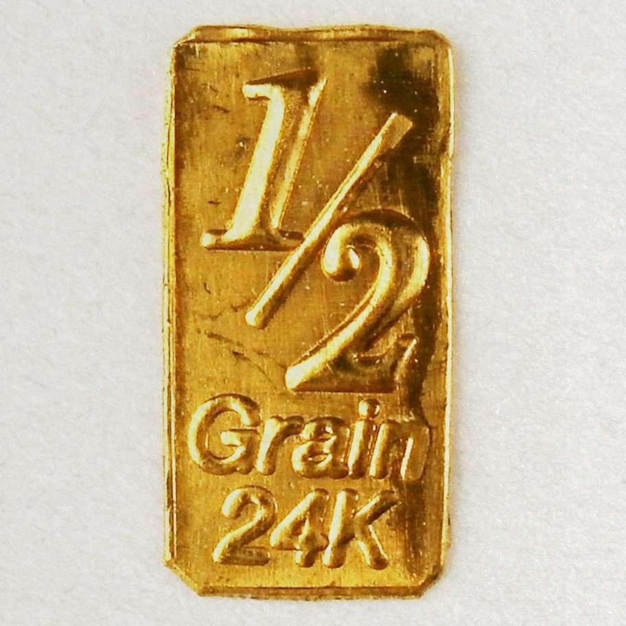 GOLD 1//60 GRAM PURE .999 FINE 24k GOLD CHRISTMAS BAR a1