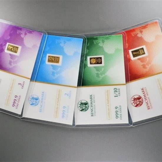 1//10 Gram Gold /& Platinum Bar COMBO 999 Fine Bullion Bars in sealed certcard c12
