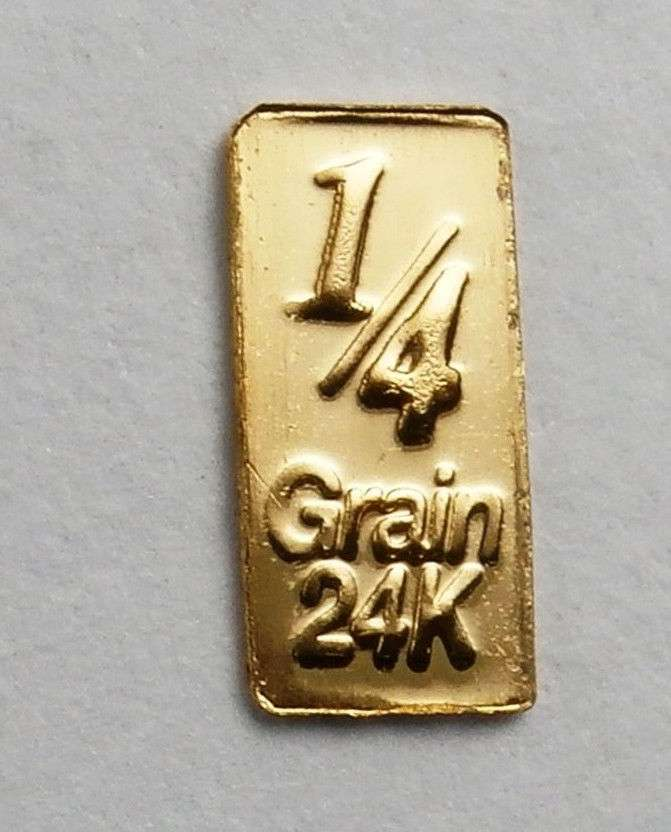 1 60th Of A Gram Pure 24 Carat Gold 0